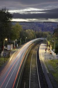 Grindleford Station, Derbyshire, England